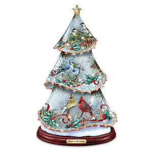 James Hautman Songbird Art Musical Illuminated Tree