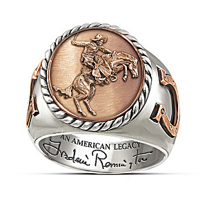 Frederick Remington Legacy Commemorative Ring