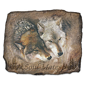 Carl Brenders Wolf Portrait Wall Decor