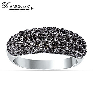 """Decadence"" Diamonesk Statement Ring"