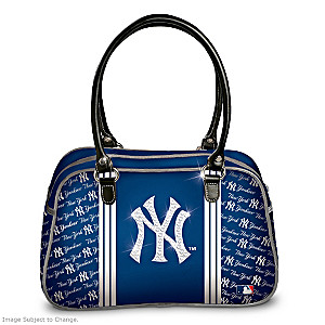"Designer-Style New York Yankees ""City Chic"" Handbag"