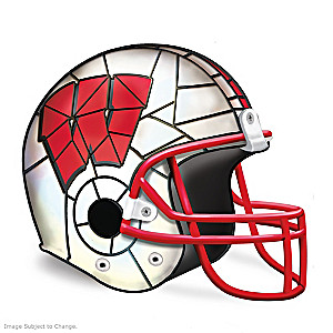 Wisconsin Badgers Officially-Licensed Football Helmet Lamp