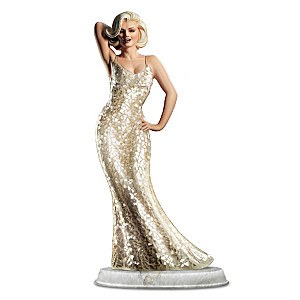 """""""Happy Birthday From Marilyn"""" Sculpture With Mosaic Dress"""