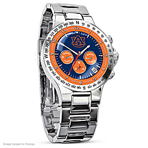Auburn Tigers Commemorative Men's Chronograph Watch