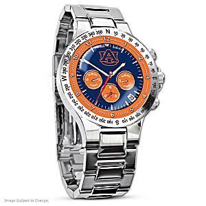 Auburn Tigers Commemorative Men's Chronograph Watch