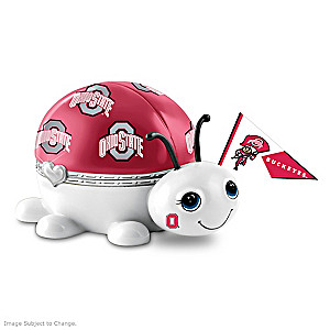 Ohio State University Bug Heirloom Porcelain Music Box