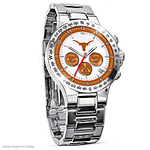Texas Longhorns Commemorative Chronograph Watch