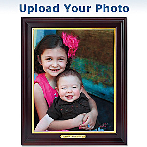 """Cherished Memories"" Personalized Framed Artist Rendering"