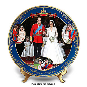 Royal Wedding Commemorative Porcelain Collector Plate