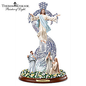 Thomas Kinkade Crystal Ascension Sculpture With Illumination