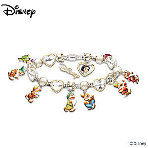 Snow White 75th Anniversary Commemorative Bracelet