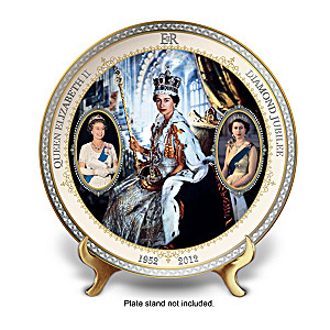 Queen Elizabeth II Diamond Jubilee Commemorative Plate