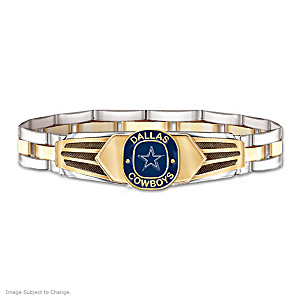 Dallas Cowboys Men's Stainless Steel Bracelet
