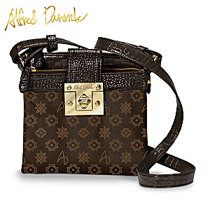 "Alfred Durante ""Central Park"" Signature Crossbody Bag"