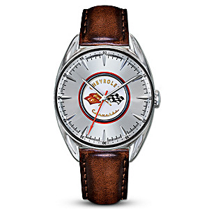 """Classic Corvette"" Commemorative Watch With Roadster Styling"