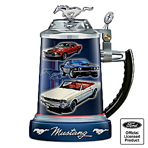 Ford Mustang Commemorative Stoneware Stein