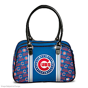 "Designer-Style Chicago Cubs ""City Chic"" Handbag"