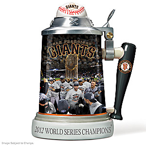 San Francisco Giants 2012 World Series Porcelain Stein
