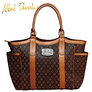 "Alfred Durante ""Uptown"" Signature Shoulder Tote"