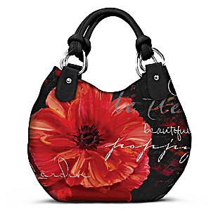 """Mindy Sommers """"Poppy le Fleur"""" Shoulder Bag"""