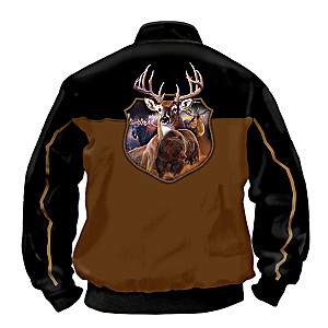 Wild And Rugged Reversible Men's Jacket Size Large (42-44)