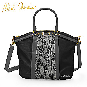 "Alfred Durante ""The Duchess"" Lace-Style Designer Handbag"