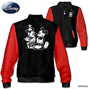 A Date With Mickey And Minnie Women's Knit Jacket