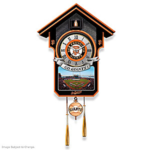 San Francisco Giants Tribute Wall Clock