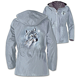 "Eddie LePage ""Guardians Of The Wild"" Ladies' Wolf Art Jacket"