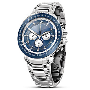 """Son, Reach For Your Dreams"" Engraved Chronograph Watch"