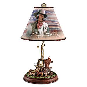 "John Wayne ""Straight Shooter"" Accent Lamp"
