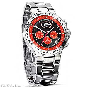 Georgia Bulldogs Commemorative Chronograph Watch