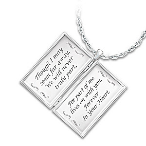 """Message From Heaven"" Diamond Remembrance Pendant"