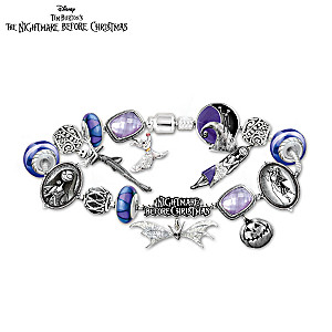 """Tim Burton's The Nightmare Before Christmas"" Charm Bracelet"