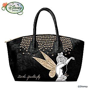 "Disney Tinker Bell ""Let The Sparkles Fly"" Handbag"