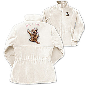 "Kayomi Harai ""Kitten Kutie"" Fleece Women's Jacket"