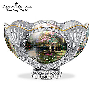 Thomas Kinkade Facets Of Brilliance Bowl