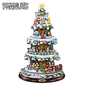 A PEANUTS Christmas Tree With Lights, Motion And Music