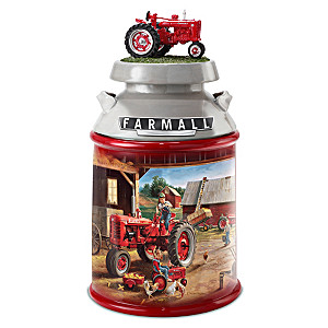 Charles Freitag Farmall Tractor Cookie Jar