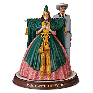 "The Carol Burnett Show ""Went With The Wind"" Figurine"