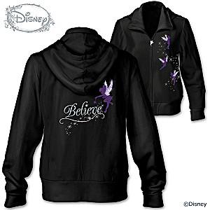 "Tinker Bell ""Believe In The Magic"" Hoodie"