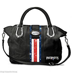"New England Patriots ""Pat City Chic"" Handbag"