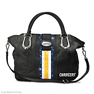 "Los Angeles Chargers ""Chic City In Motion"" Handbag"