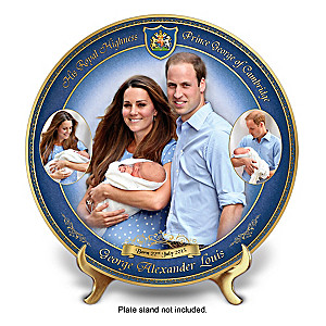 Prince George Royal Heir Commemorative Collector Plate