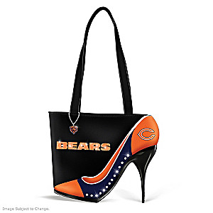 "Chicago Bears ""Kick Up Your Heels"" Handbag"