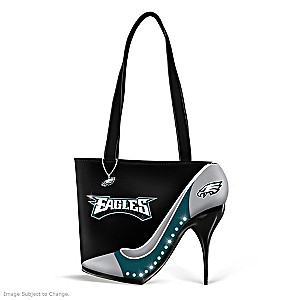 "Philadelphia Eagles ""Kick Up Your Heels"" Handbag"
