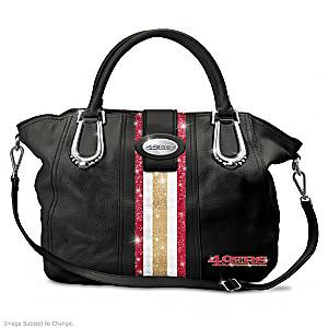 """San Francisco 49ers """"Bay City Chic"""" Handbag"""