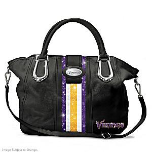 "Minnesota Vikings ""Twin Cities Chic"" Handbag"
