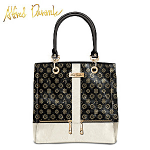 "Alfred Durante ""Bridgeport"" Signature Zipper Tote"