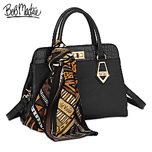 "Bob Mackie ""Rodeo Drive"" Satchel-Style Leather Handbag"